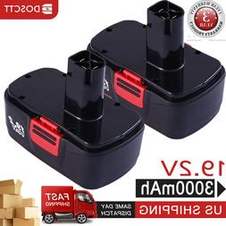 3000mAh 19.2v replace for Craftsman C3 Battery Ni-MH 1302790