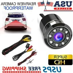170° CMOS Car Rear View Backup 8 LED Camera Reverse Night V