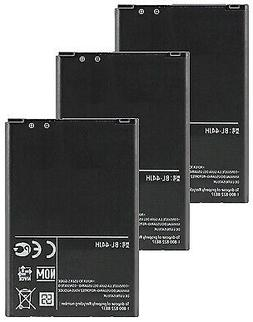 3x Replacement For LG BL-44JH Li-ion Mobile Phone Battery 17