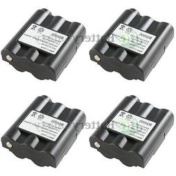4 NEW OEM BG0055 BG055 Two-Way 2-Way Radio Rechargeable Repl