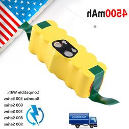 4500mAh Replacement Lithium Battery for iRobot Roomba 500 60