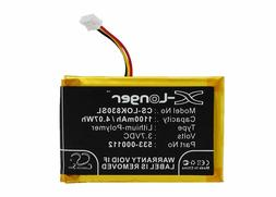 VINTRONS 533-000112 Replacement Battery  For LOGITECH IIIumi