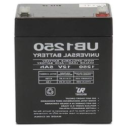 Universal Power Group 12V 5AH SLA Battery Replacement for AD
