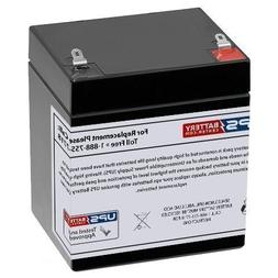 12V 5AH Compatible Replacement Battery for ION Block Rocker