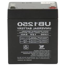 Universal Power Group 12V 5AH SLA Battery Replacement ION Au