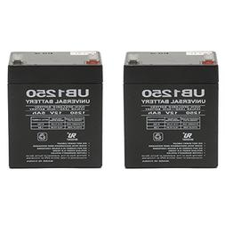 Universal Power Group 12V 5AH SLA Replacement Battery for FP