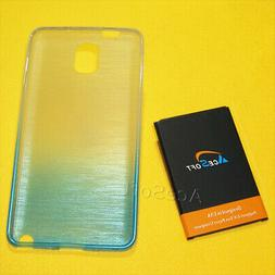 AceSoft 6690mAh Replacement Battery Back Case For Samsung Ga
