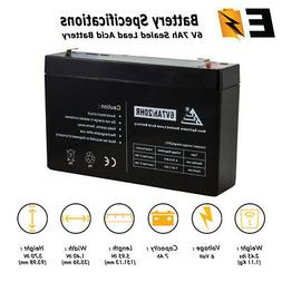 6V 7Ah SLA Replacement Battery for Huffy BMW X6 Ride On Toy
