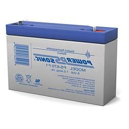 6V 7Ah SLA Replacement Battery for Kids Ride On Power Car Wh