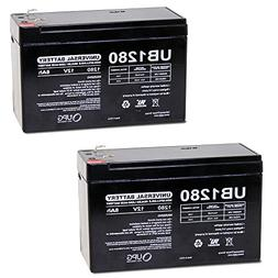 12V 8Ah APC Back-UPS ES 750 UPS Battery : Replacement - 2 Pa