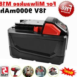 Bonacell 9000mAh For Milwaukee M18 48-11-1890 Li-Ion High De