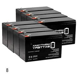 Mighty Max Battery 12V 9Ah PowerWare PWHR1234W2FR Replacemen