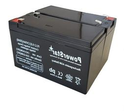 PowerStar- 2 Pack -9AH Replacement for APC Back-UPS XS1500 X