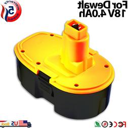 GERIT BATT For Dewalt 18V 2.0Ah Replacement Battery for DC90