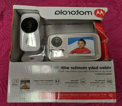 """Motorola MBP667CONNECT 2.8"""" Video Baby Monitor with Wi-Fi wi"""