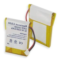 New Lithium Replacement Cordless Phone Battery For PLANTRONI