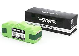 Pwr+ Extended Battery for Irobot Roomba 500, 600, 700, 800 S