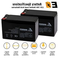 2 Pack: 12V 7Ah Rechargeable Battery Replacement for Acorn S