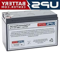 This is an AJC Brand Replacement APC Back-UPS LS 700 12V 9Ah UPS Battery