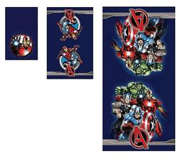 Disney Avengers Marvel 3 Piece Beach Travel Bath Towels Set
