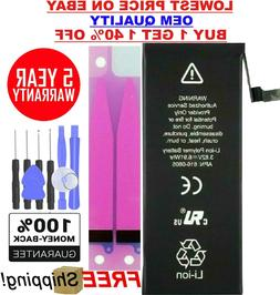 Battery for iPhone 6 1810mAh Internal Replacement Li-ion fre