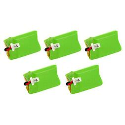 Battery For Plantronics CS540 Headset System 86180-01  5Pack