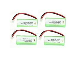 SPS Brand 2.4V 650 mAh Replacement Battery for Rayovac TEL10