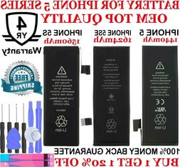 New OEM Replacement Battery compatible for Iphone 5 5C 5S 5S