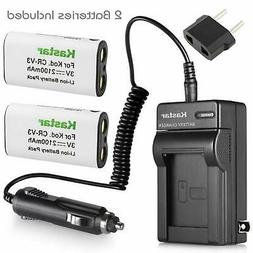 Camera Battery And Charger Rechargable Batteries Charging Re