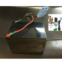 COMBO Replacement Battery & Charger for Kid Trax 12V Scout J