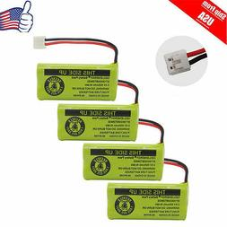 4 x Cordless Phone Battery For AT&T LUCENT BT18433 BT28433 U