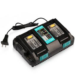 DC18RD Replace for Makita Dual Port 4A Fast Charger for Maki