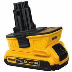 DEWALT 18v to 20v Adapter - Bare  Compatible with most DEWAL