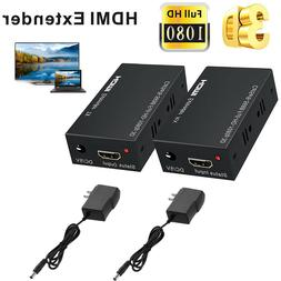 HDMI LAN Extender Repeater Over Single Cat5E/6 RJ45 Up To 20