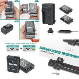 Bonacell EN-EL14 Replacement Battery and Charger Kit Compati