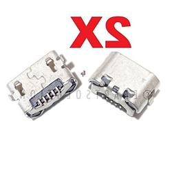ePartSolution_2X USB Charger Charging Port Dock Connector US