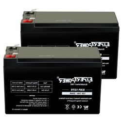 Expert Power 2 Pack- REPLACEMENT BATTERY. ENDURING 6-DW-7 12