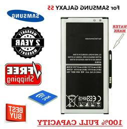 For Samsung Galaxy S5 Battery Replacement NEW EB-BG900BBC Or