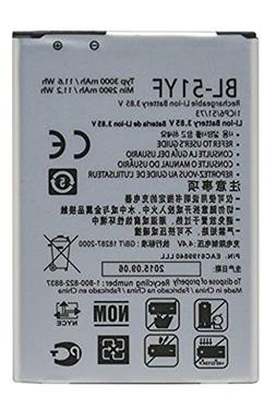 Generic Non-OEM BL-51YF Replacement Battery for LG G4, G Sty