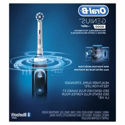 New in Box Oral-B GENIUS Pro 8000 Black Electric Toothbrush