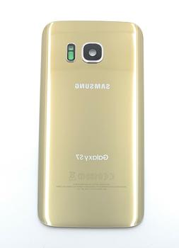 Gold Back Glass Cover Battery Door Replacement For Samsung G