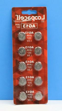 Lighted Fishing Bobber Replacement Battery PACKAGE OF 10 Fre