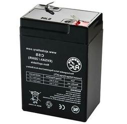 HKbil 3FM5.0 6V 5Ah Sealed Lead Acid Battery - This is an AJ