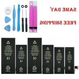 For iPhone 5 6 6S 7 8 X XS Plus Replacement Internal Battery