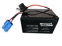Kid Trax 12 Volt Replacement Battery 12V 12AH With Small Blu