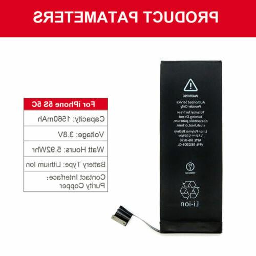 1560mAh Li-ion Battery for iPhone 5c Cell