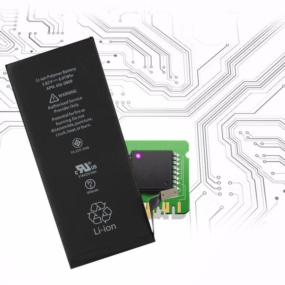 1810mAh Lithium 6 Mobile Phone <font><b>Replacement</b></font> <font><b>Battery</b></font> For iPhone6 Free Tools