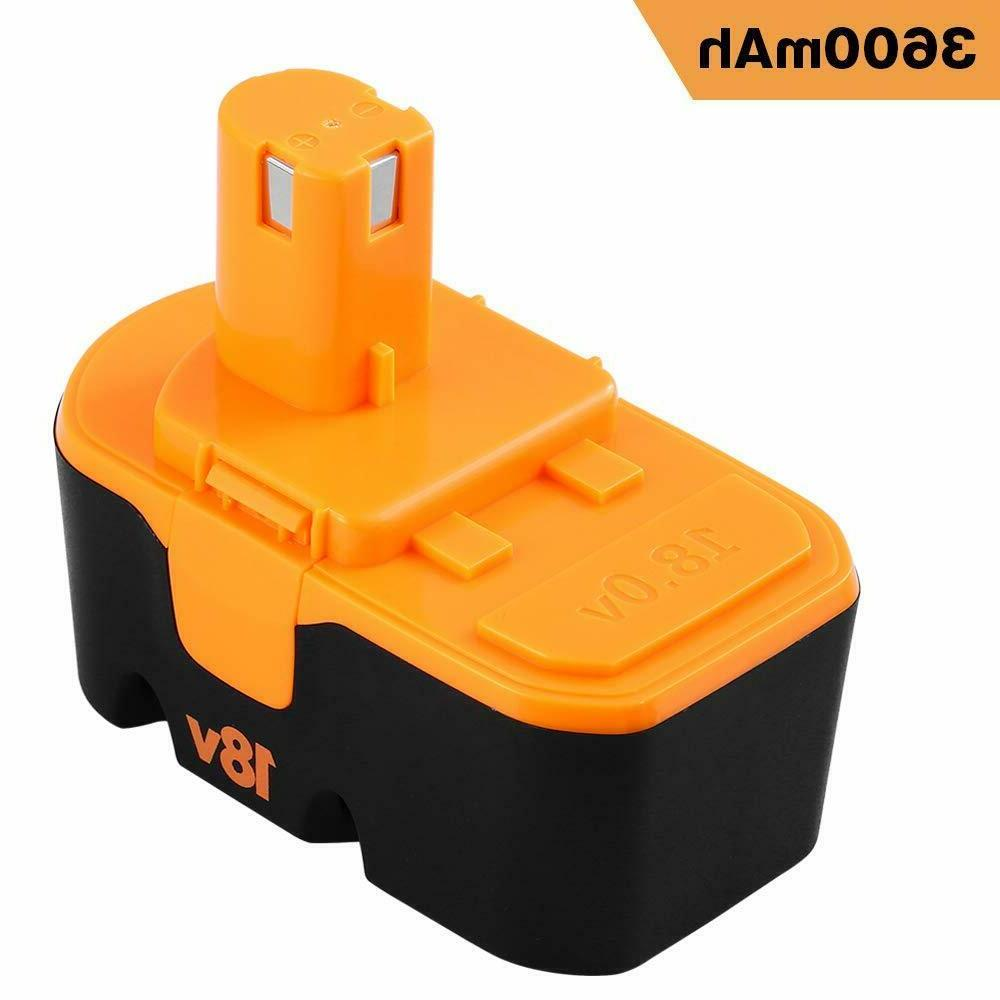 18V Replacement for Battery ONE+P101