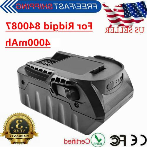 18v 6 0ah lithium ion replacement battery