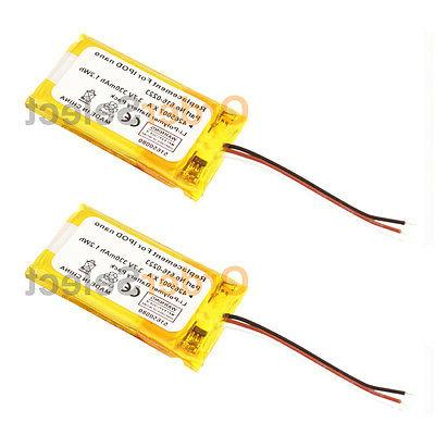 2 new replacement battery for apple ipod